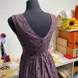 Altar'd State Dresses - Altar'd State Purple Lace Kilkenny Dress